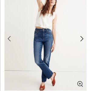 Madewell The High-Rise Slim Boyjean size 29